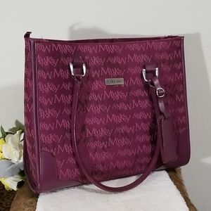 Mary Kay star consultant plum travel bag